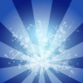 Abstract blue background is white blotches and stripes at center set your object in center Stock Photos