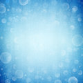 Abstract blue bokeh background light Stock Photography