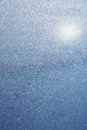 Abstract blue bokeh defocused background Royalty Free Stock Photo