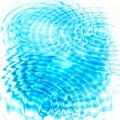 Abstract blue circular water ripples Royalty Free Stock Photo
