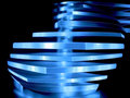 Abstract blue decorative light Stock Images