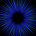 Abstract Blue Glowing Circular Star Stock Photos