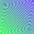 Abstract blue and green background an in moire style Stock Photography