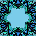 Abstract blue green pattern with place for your text Royalty Free Stock Photos