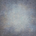 Abstract blue hand-painted vintage background Royalty Free Stock Photo