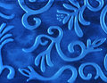 Abstract blue metal background Royalty Free Stock Photo