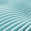 Abstract blue monochrome d wave background Royalty Free Stock Photo