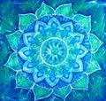 Azul patrón