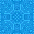 Abstract blue pattern background with Stock Photo