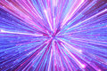 Abstract blue, pink and purple lighting streaks