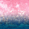Abstract blue and pink texture with vintage grunge background. Royalty Free Stock Photo