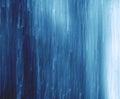 Abstract Blue Rain