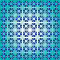 Abstract blue seamless pattern Royalty Free Stock Photos