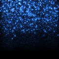 Abstract blue sparkle glitter background. Royalty Free Stock Photo