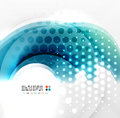 Abstract blue swirl design this is file of eps format Royalty Free Stock Image