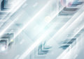 Abstract blue tech futuristic arrows vector background Royalty Free Stock Photo