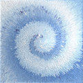 Abstract blue textured background spiral movement effect illustration Stock Image
