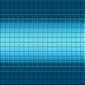 Abstract blue tiled background Royalty Free Stock Photos