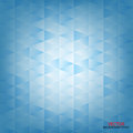 Abstract blue triangle, lined square, background Royalty Free Stock Photo