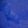 abstract blue ultramarine painting by oil on canvas, illustration, background Royalty Free Stock Photo
