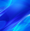 Abstract blue waves background Royalty Free Stock Photo
