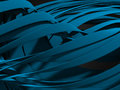 Abstract Blue Waves Stripe Pattern Background