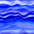 Abstract blue wavy background design creativity of waves vector illustration eps Stock Photo
