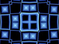 Abstract blue window Royalty Free Stock Photography