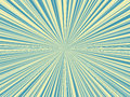 Abstract blue and yellow color sunburst,sun ray background Royalty Free Stock Photo
