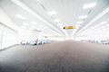 Abstract blur airport terminal interior Royalty Free Stock Photo