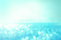 Abstract blur light on the sea and ocean background for summer s Royalty Free Stock Photo
