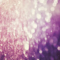 Abstract blur of purple color bokeh lighting as background the Royalty Free Stock Photography