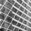 Abstract blur reflection on window building Royalty Free Stock Photo