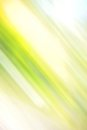 Abstract blured green background with yellow spot Royalty Free Stock Photography