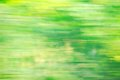 Abstract blured green background with yellow spot Stock Images