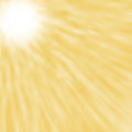 Abstract blured sun rays yellow background concept Royalty Free Stock Images