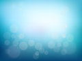 Abstract Blurred background. Blue gradient backdrop with bokeh effect Royalty Free Stock Photo