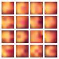 Abstract blurred blur backgrounds set of vector illustration Stock Photo