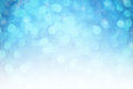 Abstract blurred bokeh background blue Stock Photo