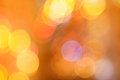 Abstract blurred circular bokeh lights background Royalty Free Stock Photos