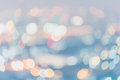 Abstract blurred soft light bokeh background, Pastel colour styl Royalty Free Stock Photo