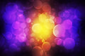 Abstract bokeh effect texture bubble color Royalty Free Stock Images