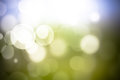 Abstract bokeh festive background with defocused lights Royalty Free Stock Photo