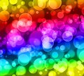 Abstract bokeh glitter ,rainbow colorful background