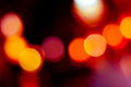Abstract bokeh lights background Royalty Free Stock Photos