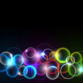 Abstract bright background. Royalty Free Stock Photo