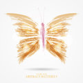 Abstract bright butterfly Royalty Free Stock Photo