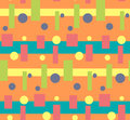 Abstract bright colorful geometric pattern