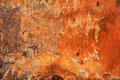 Abstract bright orange - red texture. Grunge background - empty space for the designer fantasies. Old wall Royalty Free Stock Photo