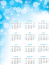 Abstract bubble 2013 calendar Royalty Free Stock Image